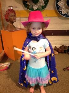 Field Trip Girl At The Kidseum in Santa Ana