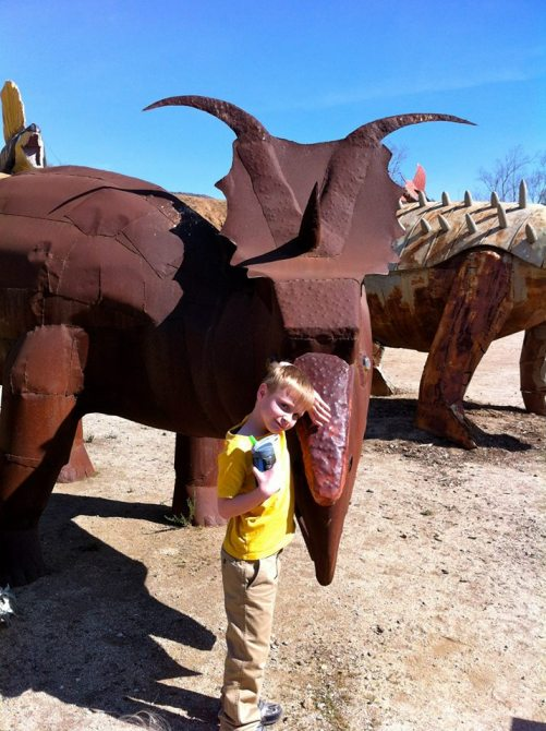 Field Trip Boy at The Jurupa Mountains Discovery Center